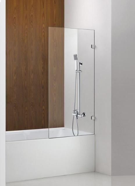Bathroom shower head and rail